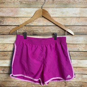Adidas| Climalite Running Shorts| Size S| Pink